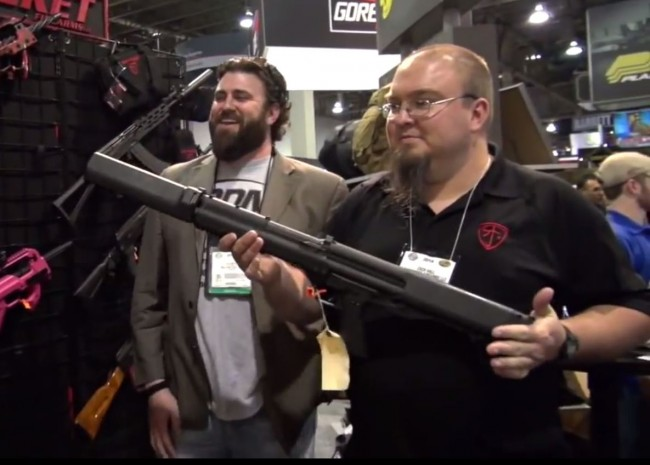 KSG Shotgun Suppressor