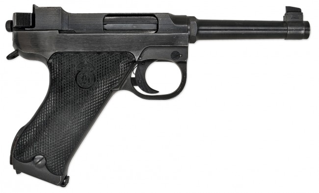 Swedish Pistol Lahti m-40 side