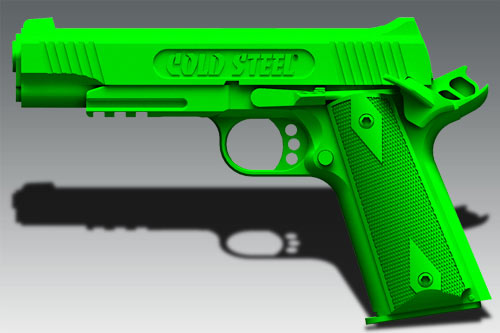 cold-steel-1911-hammer-cocked