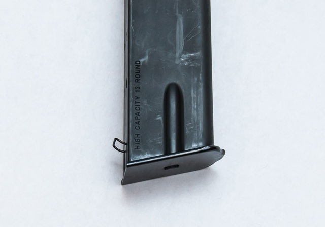 Hi Power magazine with extraction spring
