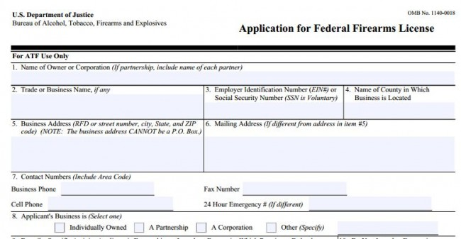 Part 4 - Getting a Home-Based FFL - Application Submitted! - The ...