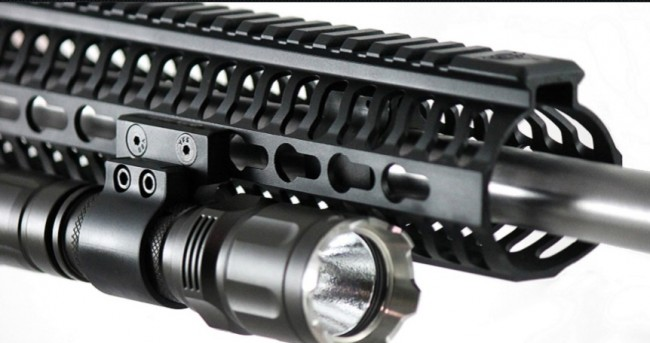 ODIN Works FLM or flashlight mount. (Photo courtesy of ODIN Works.)