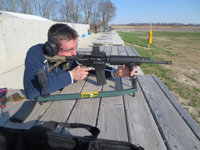 A random shooter who provided his feedback on the rifle.