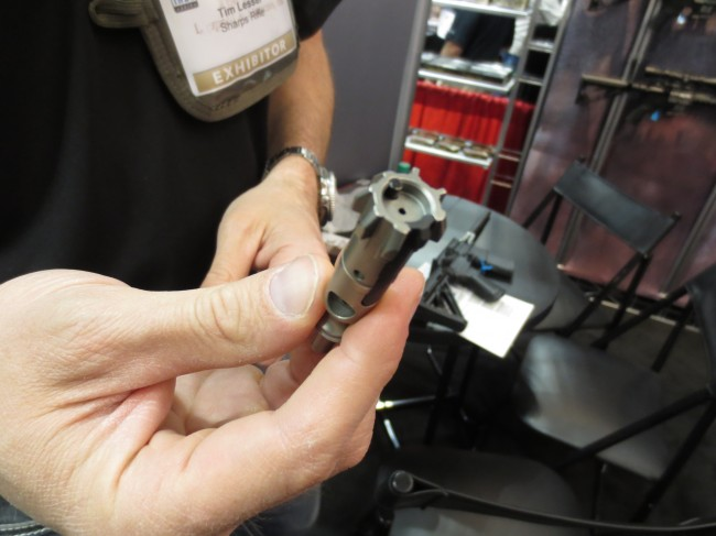 Relia-bolt with lugs clearly visible.