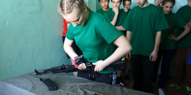 Russian school AK