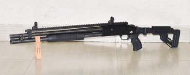 Y-man's Mossberg 500A AFTER