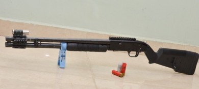 Y-man's Mossberg 500A Mod complete