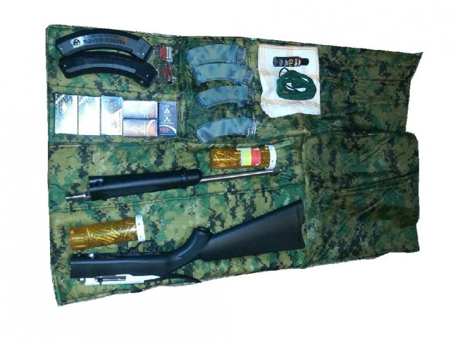 Roll Up Case For Ruger 10 22 Takedown The Firearm Blog