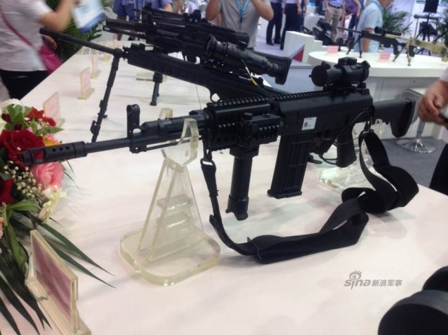 Chinese CS LR14 rifle