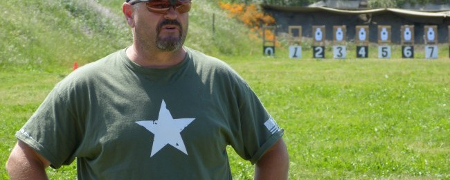 Larry Vickers, retired U.S. Army Delta force combat veteran.