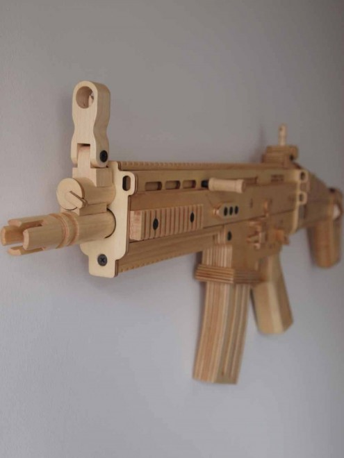 Fn Herstal Buys Wooden Replicas From Uk Artistthe Firearm Blog