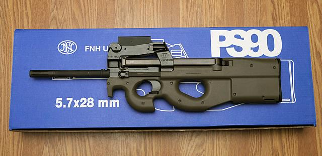 FN PS90 in factory configuration.