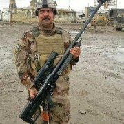 iraqi with iranian rifle