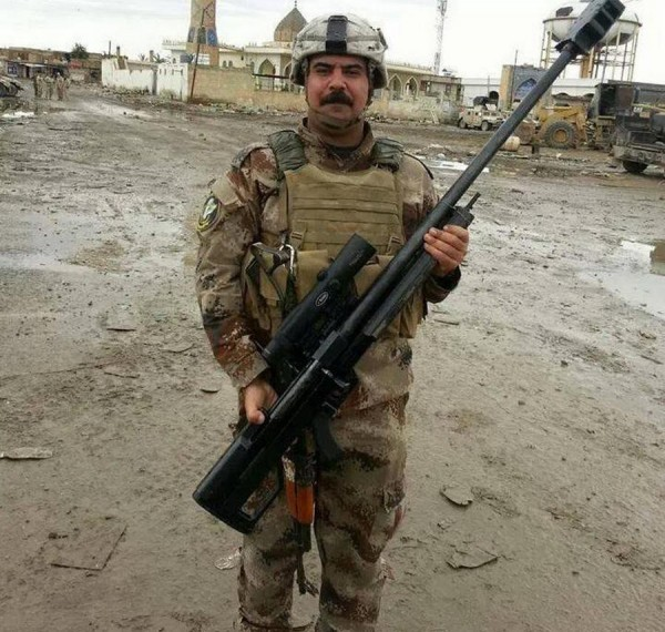 Iranian AM50 and Russian ORSIS T-5000 rifles in Iraq - The ...