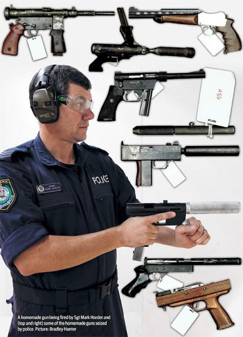 Tiny Home Designs: Australian Police: 10% Of Firearms Seized Are Homemade