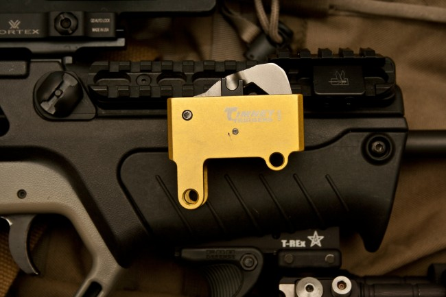 Tavor with Timney Trigger Pack