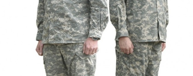 The Army Combat Uniform in the Universal Camouflage Pattern