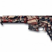American Flag Rifle