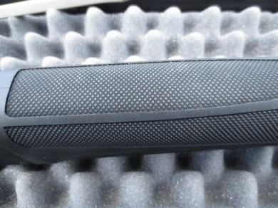 The same texture dominates the bottom of the forend.