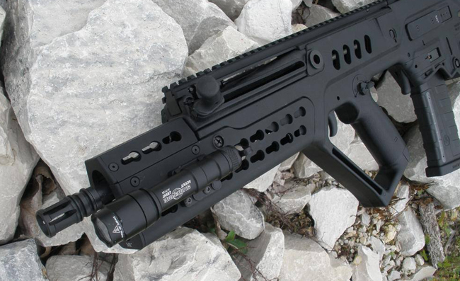 Midwest Industries Tavor Extended And Xl Keymod Handguards