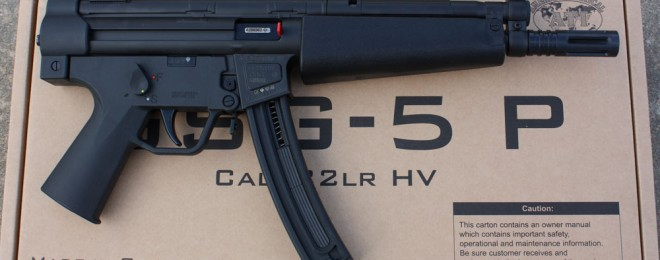 GSG-5 as imported by ATI before H&K sued them and GSG.
