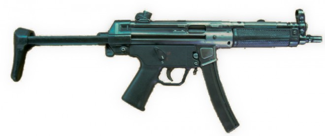 H&K MP5, designed in the early 1960s