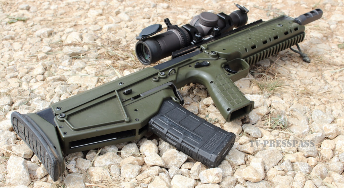Kel-Tec RDB Bullpup OD Green Downward Ejection Port