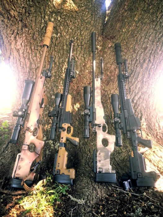 Accuracy International Rifle Collection