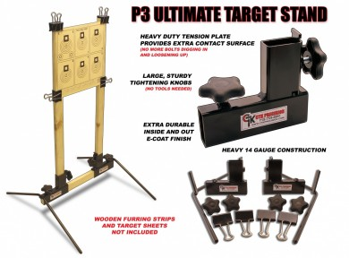 CTK Precision P3 Ultimate Target Stand - Features
