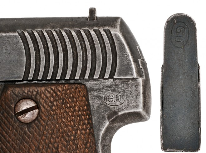 French Pistol Ruby M1915 letter code