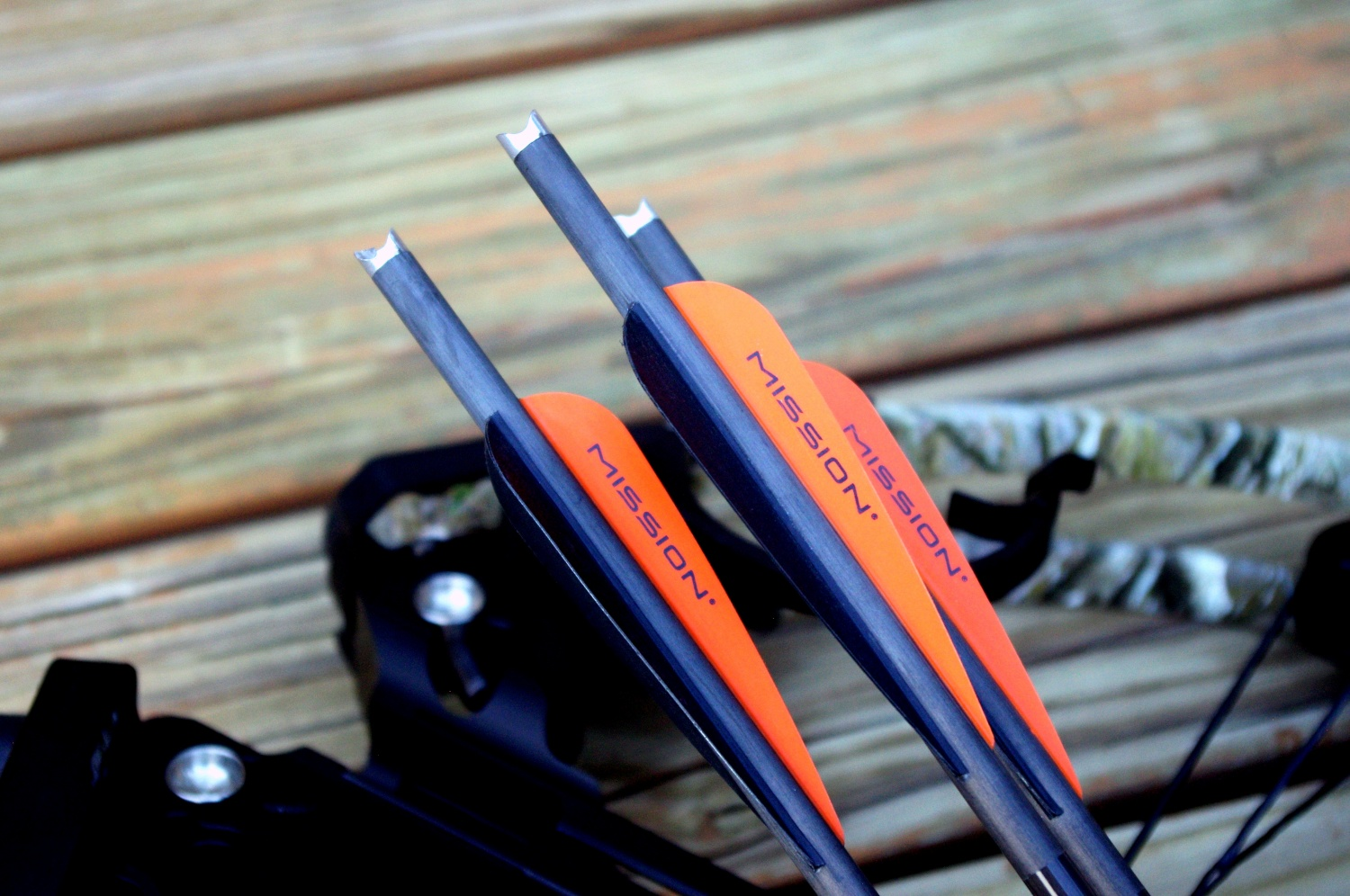 "These Mission arrows/bolts feature an aluminum ""Half moon"" style nocks. Arrows equipped with half moon nocks are required for reliable and safe use."