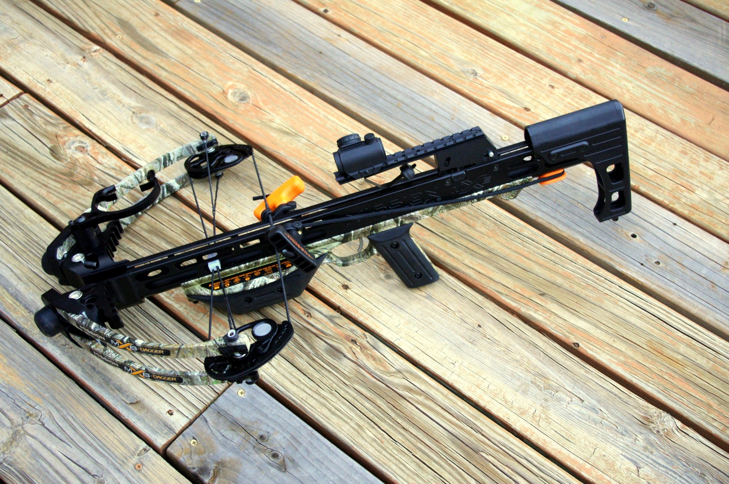 Mission MXB Dagger crossbow with Bushnell TRS-25