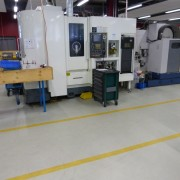 CNC machinery does most of the precision work at B+T