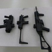 Some of B+T toys ready for testing, L to R: APC9, TP9 and APC223