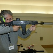 APC223, also suppressed, has so little recoil that you can hardly feel it at all