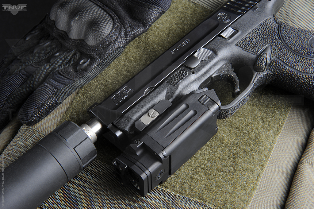 Steiner DBAL-PL Visible/IR Weaponlight with Green/IR Aiming 9021