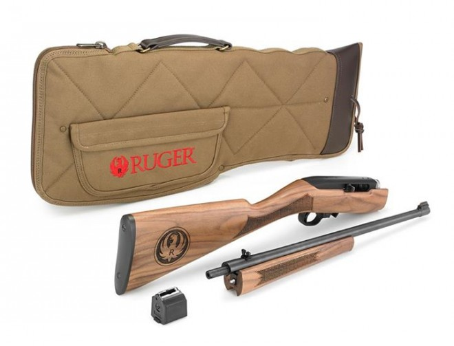 Classic VI 50th Anniversary Ruger 10/22 Takedown - The Firearm BlogThe Firearm Blog