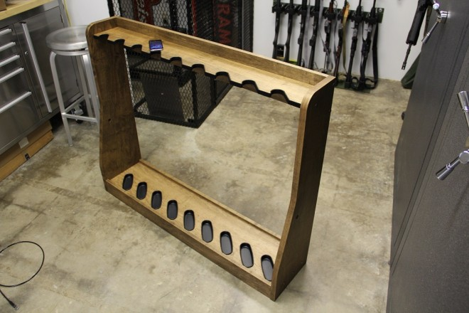 Review Campbell Industrial Supply Vertical Gun Rack The