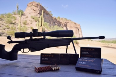 Sake TRG-22 test rifle for Eagle Eye .308 Win
