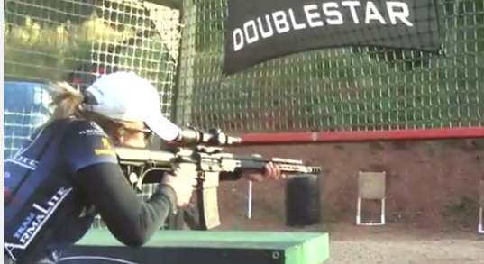 First Ever Lady s 3 Gun Match   YouTube