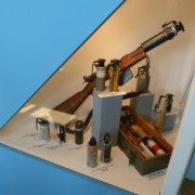 grenades and launcher