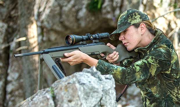 Steyr Scout Green
