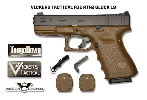 Vickers Tactical Operator Glock in FDE