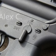 The author's post sample M16 lower.