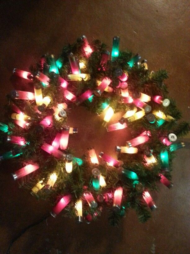 Christmas Decorations Made Of Spent Shotshells The