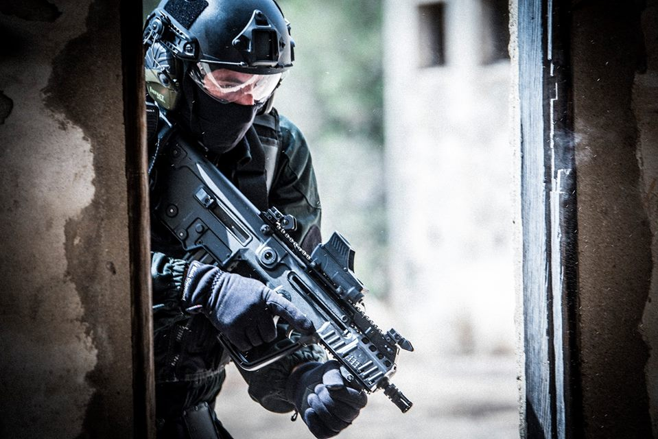 The most recent variant of the X95. Photo by Benny Levin  of IWI Israel