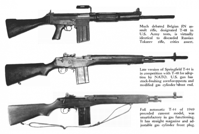 The Great Rifle Controversy 1955 The Firearm Blogthe