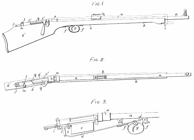 Thorneycroft_carbine,_patent_14622_of_July_18,_1901