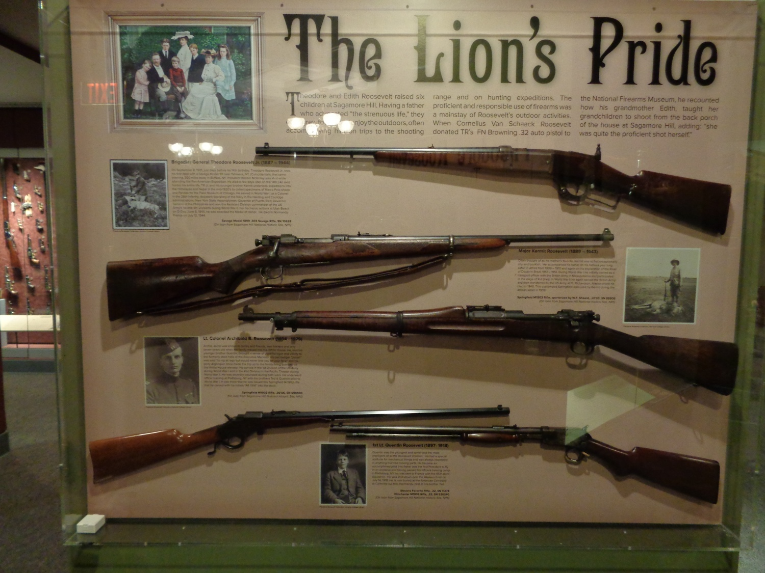 Teddy roosevelt guns to be displayed at nra national -