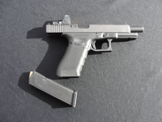 The Glock MOS handguns offer a variety of options for several of today's most popular red dot optics.